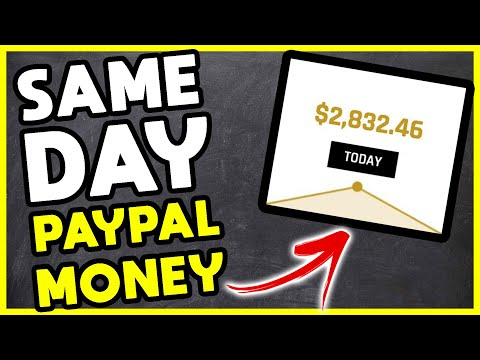 Earn PayPal MONEY FAST! (SAME DAY CASH)