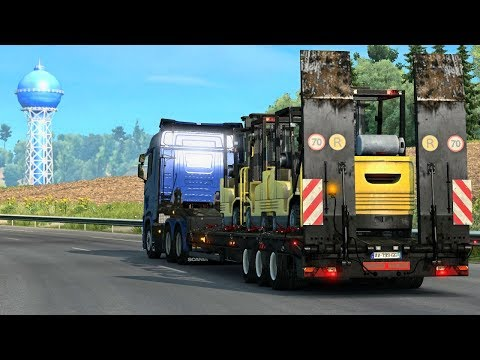 EXPLORATION & REPUTATION GAINING| Euro Truck Simulator 2