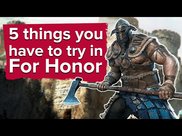 For honor matchmaking unbalanced