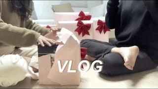[예비부부 브이로그] 결혼선물 언박싱, 양키캔들, 캔들…