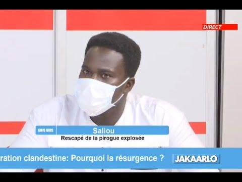 Jakaarlo: Les témoignages choquants d'un rescapé de la pirogue explosée