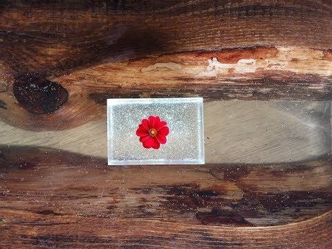 How to make amazing flower in EPOXY RESIN.DIY