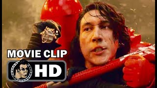 THE LAST JEDI Movie Clip - Throne Room Fight (2017) Daisy Ridley, Adam Driver Sci-Fi Movie HD