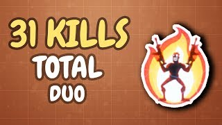 31 DUO KILLS | Destroying the competition! w/ Camills (Fortnite)
