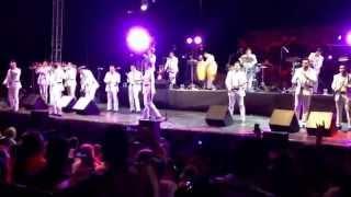 "La arrolladora banda limón en el carnaval coatzacoalcos 2014 "" la llamada de mi ex """