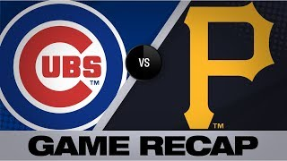 Lester, Bryant lead Cubs in shutout win | Cubs-Pirates Game Highlights 8/17/19