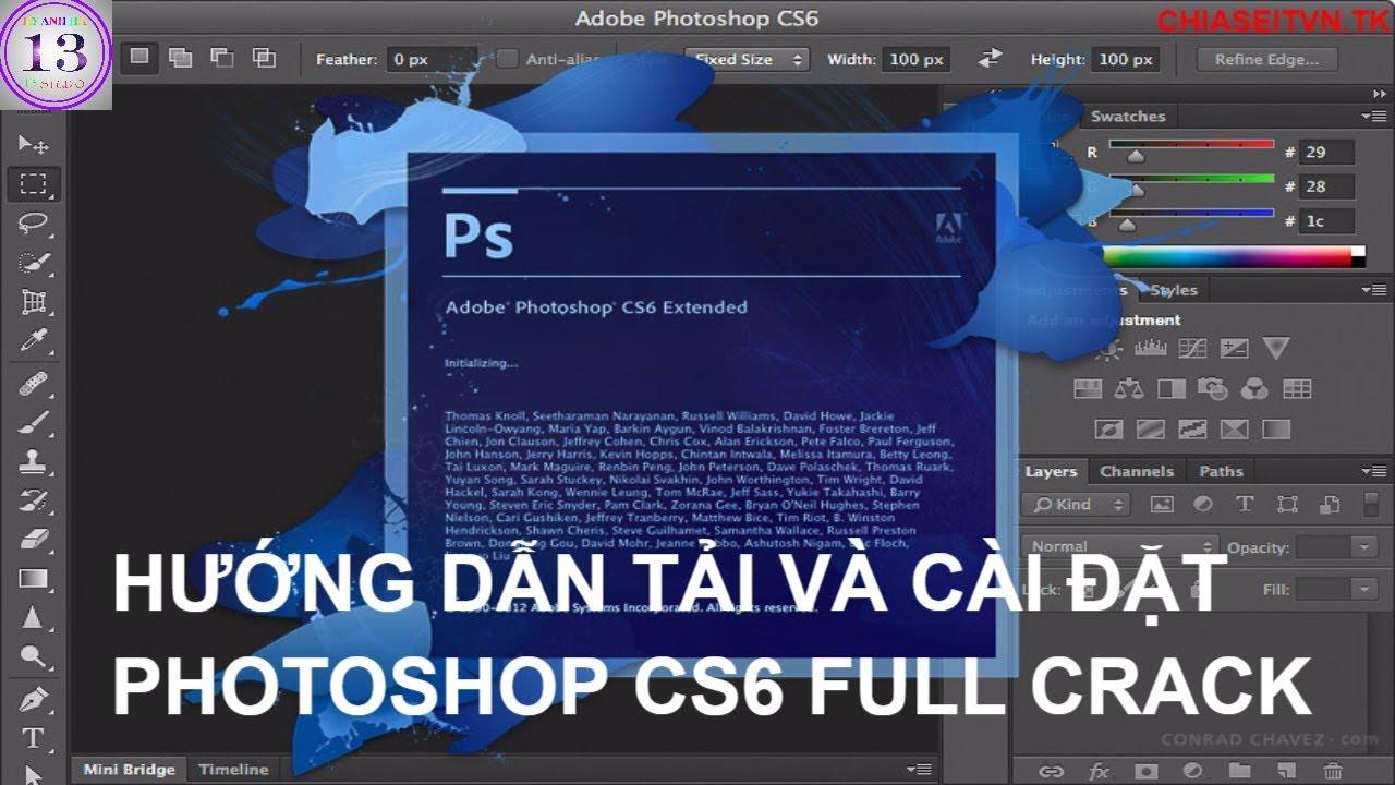 photoshop cs6 with crack download