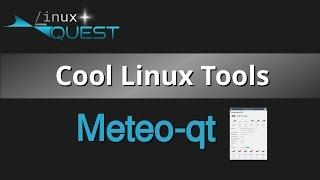 Cool Linux Tools - Meteo-qt