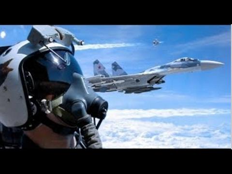 Russian Navy TOP GUN pilots practice their flying skills