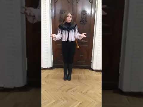 Ангелина Воробьева воспитанница ДТДЮ г  Красный Луч