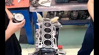 Démontage moteur THP et Métrologie #1  - PSR Méca - CFI Orly -