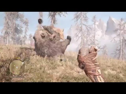 Far Cry Primal: Saber-toothed Cat vs Cave Bear