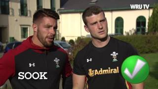 Wales rugby players try to figure out Aussie slang words | WRU TV