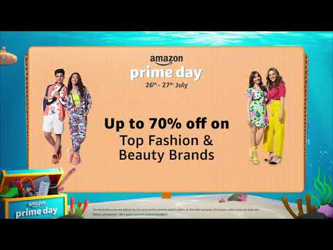 Amazon Prime Day | Fashion | 26th & 27th July