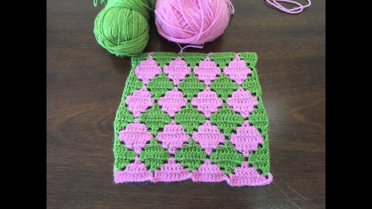 Crochet pattern diamond crochet stitch youtube dt1010fo