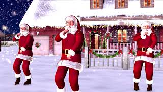 Mos Craciun Danseaza - Santa Claus Dancing Jingle Bell