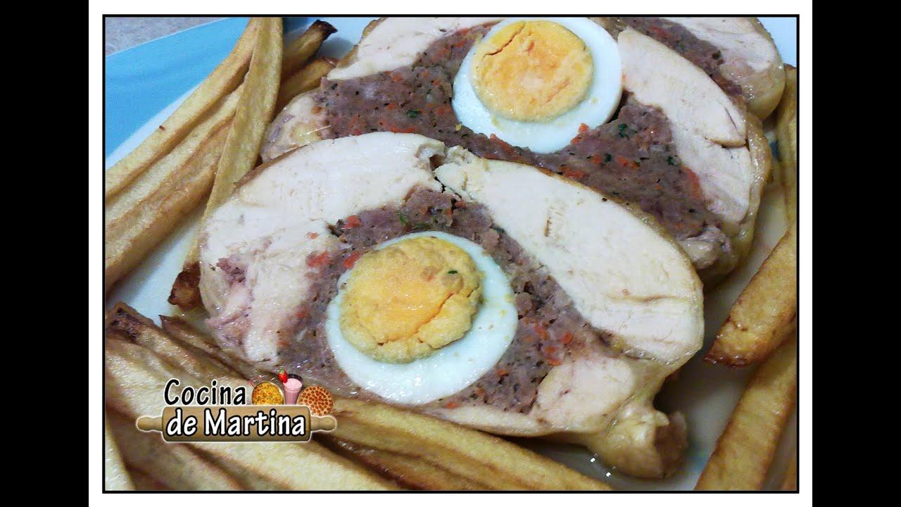 Cocina De Martina Of Pollo Relleno Recetas Para Navidad Cocina De Martina