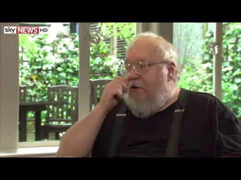 Game of Thrones - Interview with George R. R. Martin author of The World of Ice and Fire.