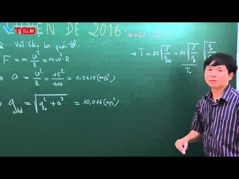 CÂU 46. Đề thi thử lần 2/2016 chuyên ĐH sư phạm Hà Nội