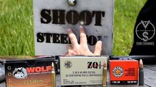 How close is TOO Close to Shoot Steel?