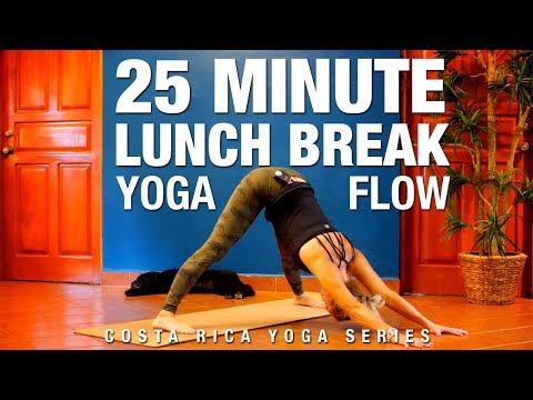 25 Min Lunch Break Yoga Flow - Five Parks Yoga