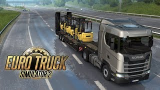 🚛На 18 КОЛЁСах по ЕВРОПЕ!  Euro Truck Simulator 2 на руле!
