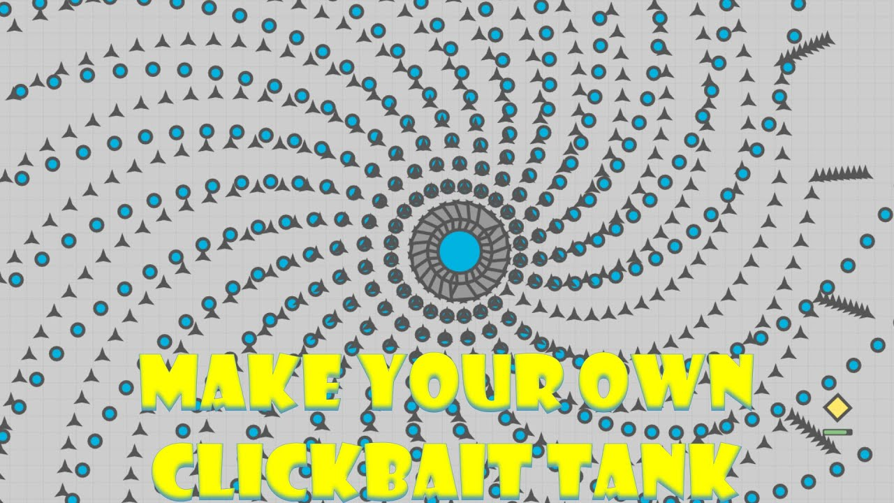 How To MAKE your OWN Clickbait Tank | FANTASY TANK BUILDER ...