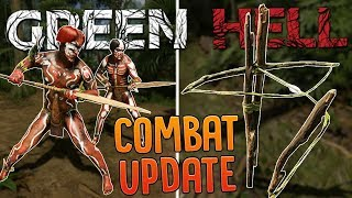 Tribal Warriors Attack My Jungle Base Camp in Green Hell - Human Traps, Player Armor & More!