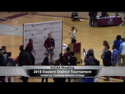 2018 NJCAA Wrestling Eastern District Tournament, part 2