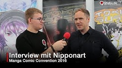 Nipponart Interview - Manga Comic Con 2016