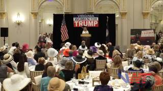 "Virginia Women for Trump shares Memorable Moments with Alice and  ""The Donald""  (1/3)"