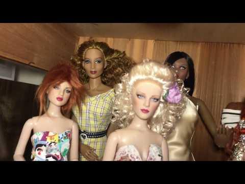 Tour of my Tonner dolls/Tonner Bjds Tsum Tsum and more!