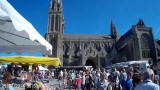 Market day in St Pol de Leon