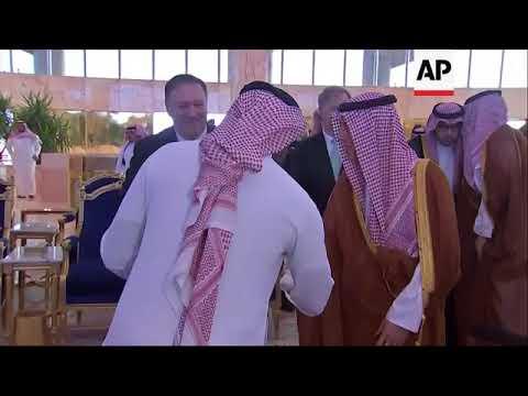 Sec. of State Pompeo Arrives In Saudi Arabia