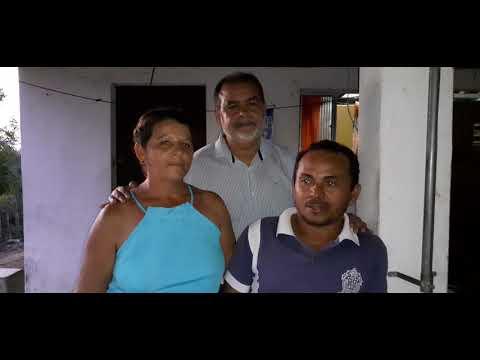 Em Mulungu: Moradora diz que prefeito Melquíades, transformam a realidade construção de cisternas da zona rural. Vídeo!