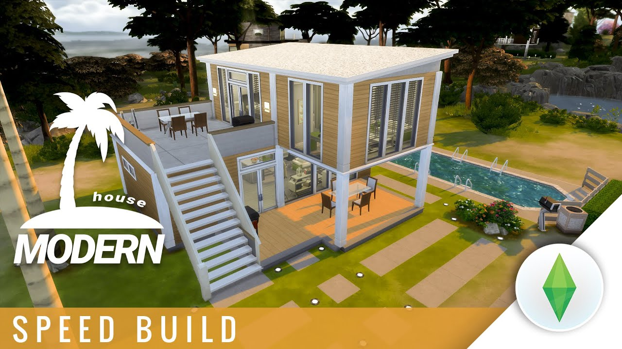 Sims  Houses Modern Building