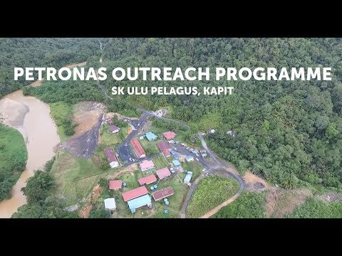 #PETRONAS | Corporate Social Investment | PETRONAS Outreach Programme at SK Ulu Pelagus