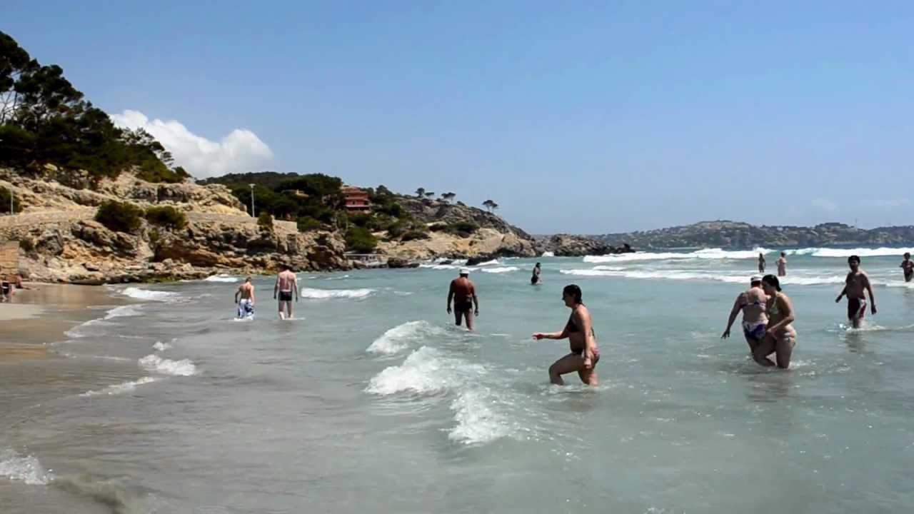 Paguera Beach Playa Hiszpania Majorka Youtube