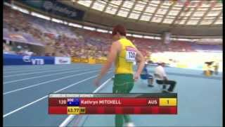 Women Javelin Final (COMPLETE) - Moscow World Champs 2013 (English)