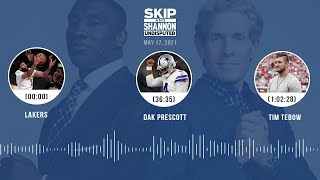 Lakers, Dak Prescott, Tim Tebow (5.17.21)   UNDISPUTED Audio Podcast