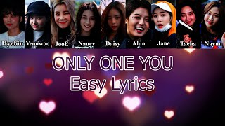 Momoland (모모랜드) - Only One You Easy Lyrics mp3