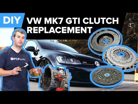 Volkswagen GTI Clutch Replacement DIY (VW Mk7 GTI & Mk7 Golf R)