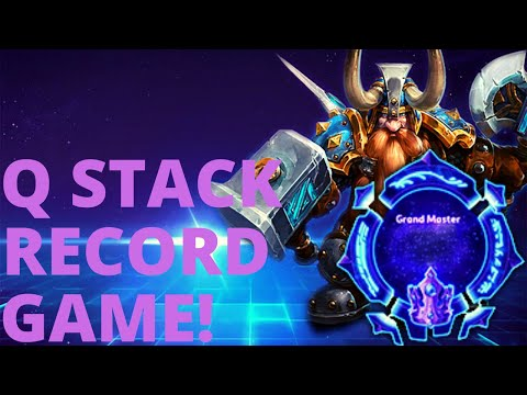 Muradin Avatar - Q STACK RECORD?!?! - Grandmaster Storm League