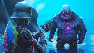 they added MONSTERS to Fortnite... (FORTNITEMARES PATCH UPDATE)