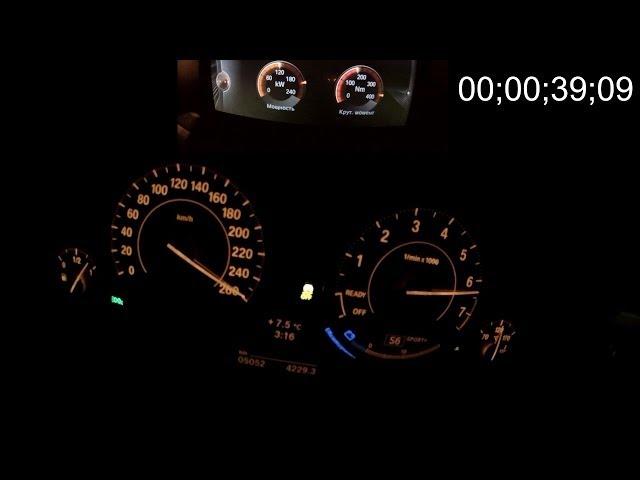 BMW 335i xDrive GT - тест-драйв + 0-260 km/h + 260-0 km/h + мощностной стенд!)