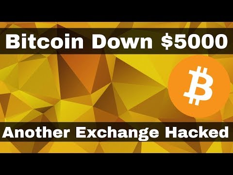 Crypto News | Bitcoin Drops $5,000 from it's high! Another Exchange Hacked!