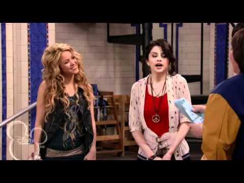 Dude Looks Like Shakira - Wizards of waverly place funny scene 3