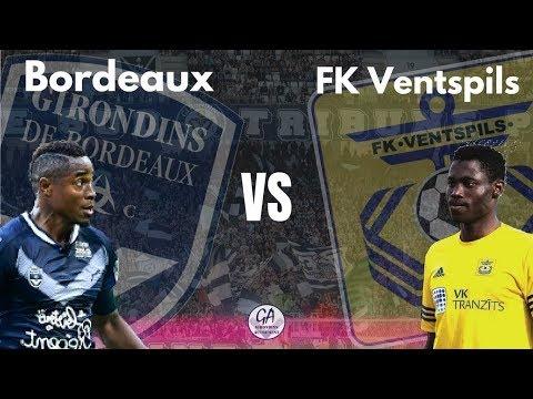 ● FK Ventspils Vs Bordeaux 0-1 ●Europa League ●Goals & Highlights ● 26/07/2018