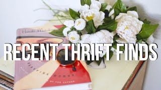 Recent Thrift Finds | New Thrift Haul!