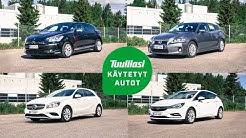 Käytetyt alle 20 000 euron säästöpossut: Lexus CT200h / M-B A-sarja / Citroën DS5 / Opel Astra